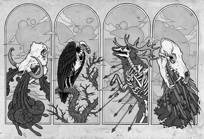Horsemen_of_the_Apocalypse_by_scumbuggb+w